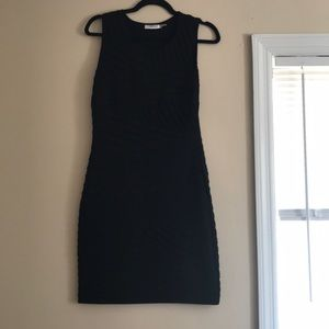 Calvin Klein Black Midi Dress